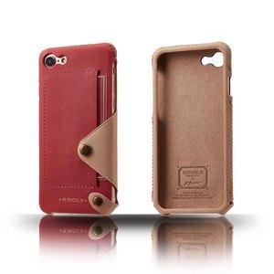 n.max.n|iPhone 7 / 4.7吋 極簡系列皮革保護套 - 粉桃紅
