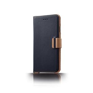 n.max.n|iPhone 7 PLUS / 5.5吋 神秘系列皮革保護套 - 海軍藍
