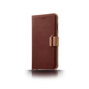n.max.n|iPhone 7 / 4.7吋 神秘系列皮革保護套 - 馬鞍棕