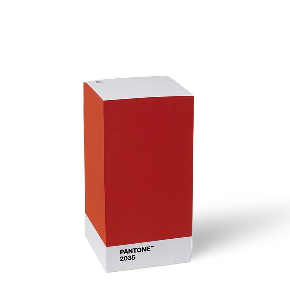 Room Copenhagen Pantone 便條紙(2035 紅色)