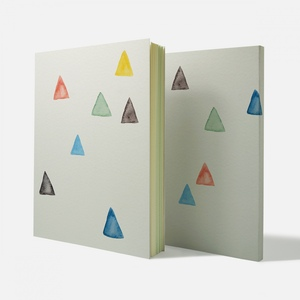 Fandora Shop|手感記事本-三角形