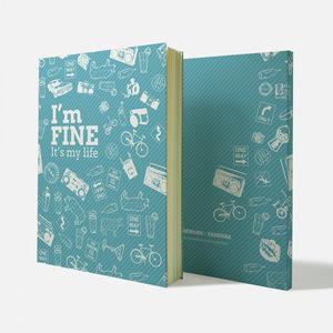 Fandora Shop|手感記事本-I'm Fine