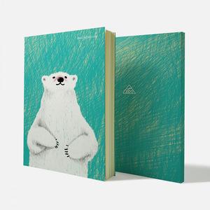 Fandora Shop|手感記事本-動物好朋友 | 大白熊先生