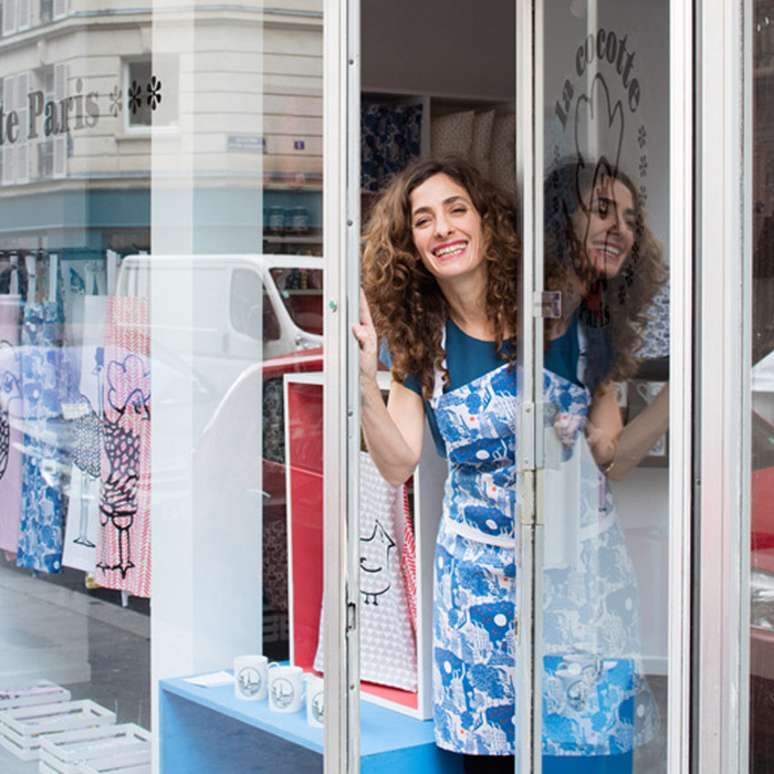 (複製)巴黎小散步雙面托特包/購物袋 Reversible Red Minipoussin
