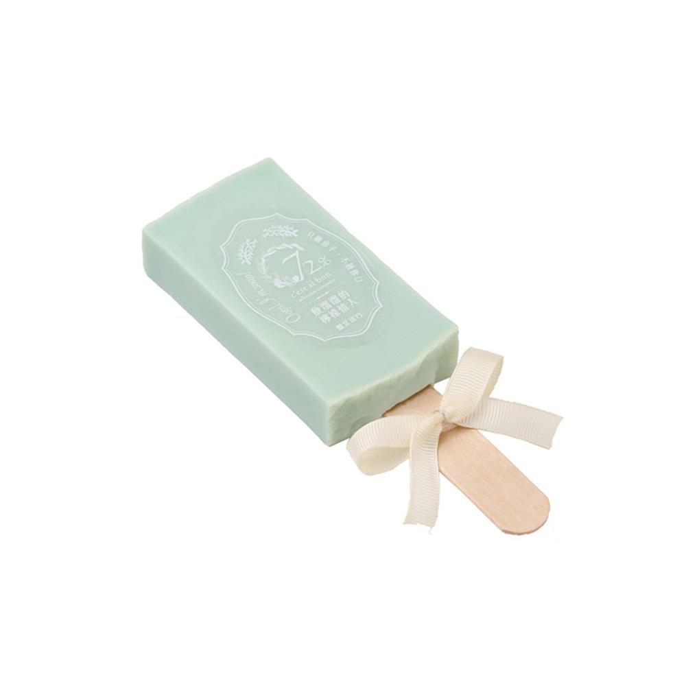 雪文洋行|沁透快樂冰棒皂-義大利的綠檸檬 (檸檬薑)72%馬賽皂