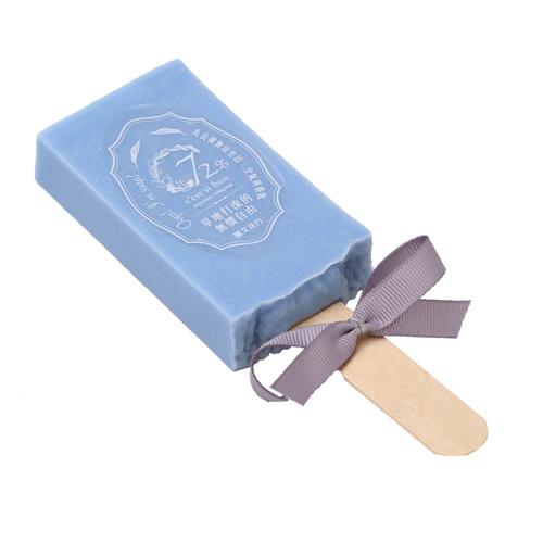 雪文洋行|沁透快樂冰棒皂-白金漢宮青草地(翠綠草地)72%馬賽皂