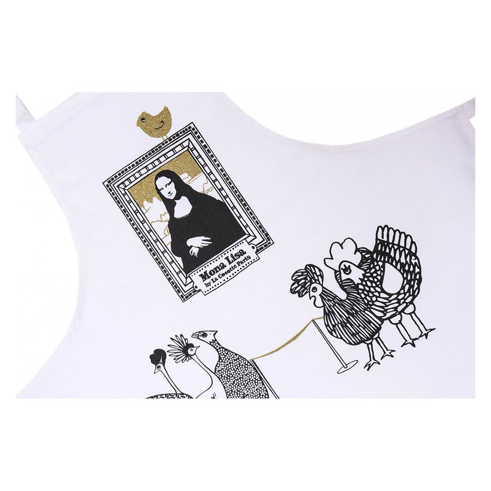 法國 La Cocotte Paris|廚房的美好時光圍裙 Tablier Mona Lisa
