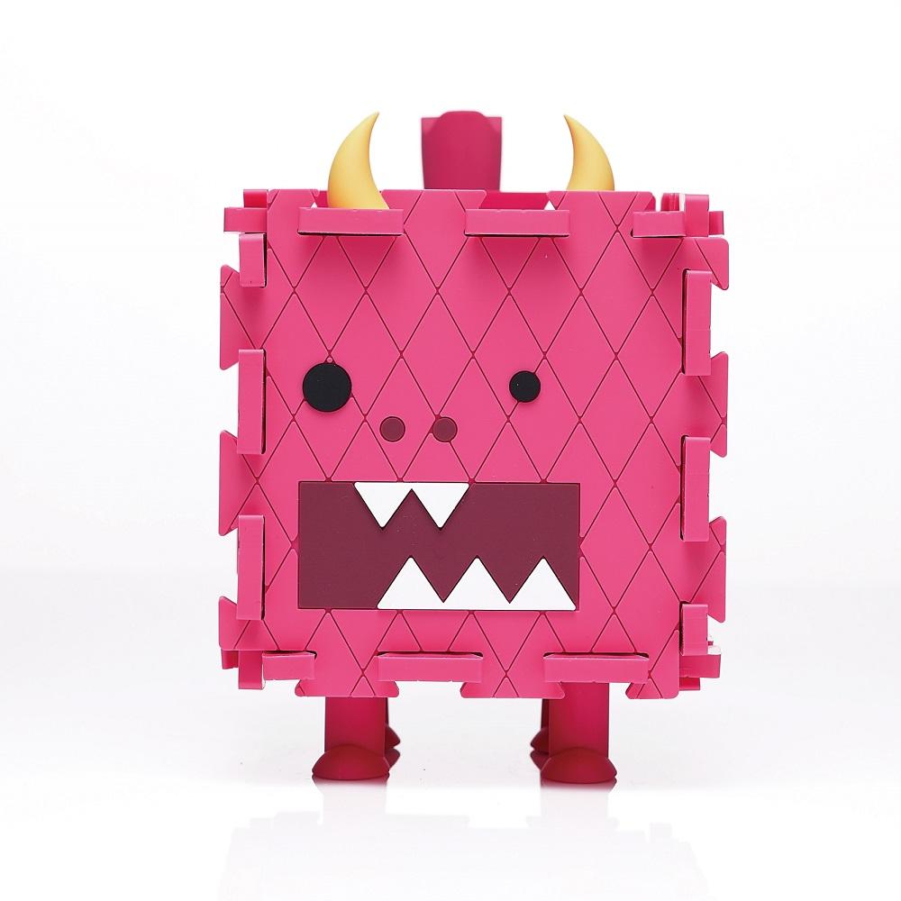 Dotfuns|Monster Box 怪獸存錢置物盒(桃紅)