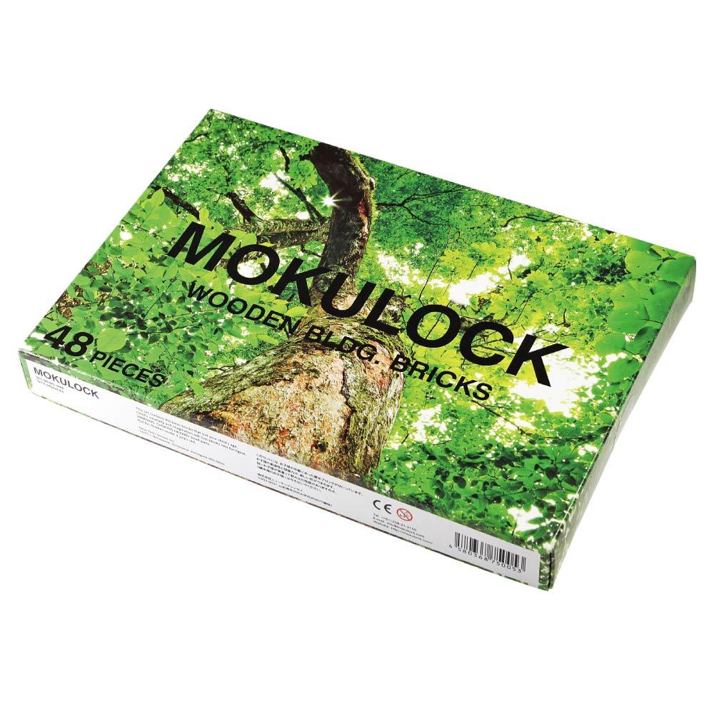 Mokulock|原木積木 48件組