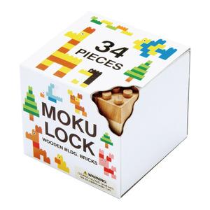 Mokulock|原木積木 兒童版 34件組