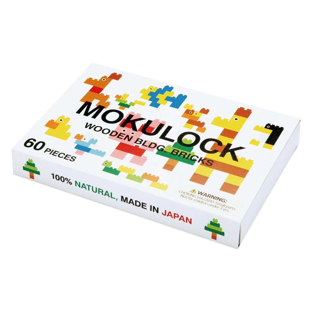 Mokulock 原木積木 兒童版 60件組