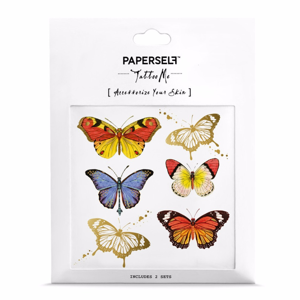 PAPERSELF|彩蝶 Butterflies(金)