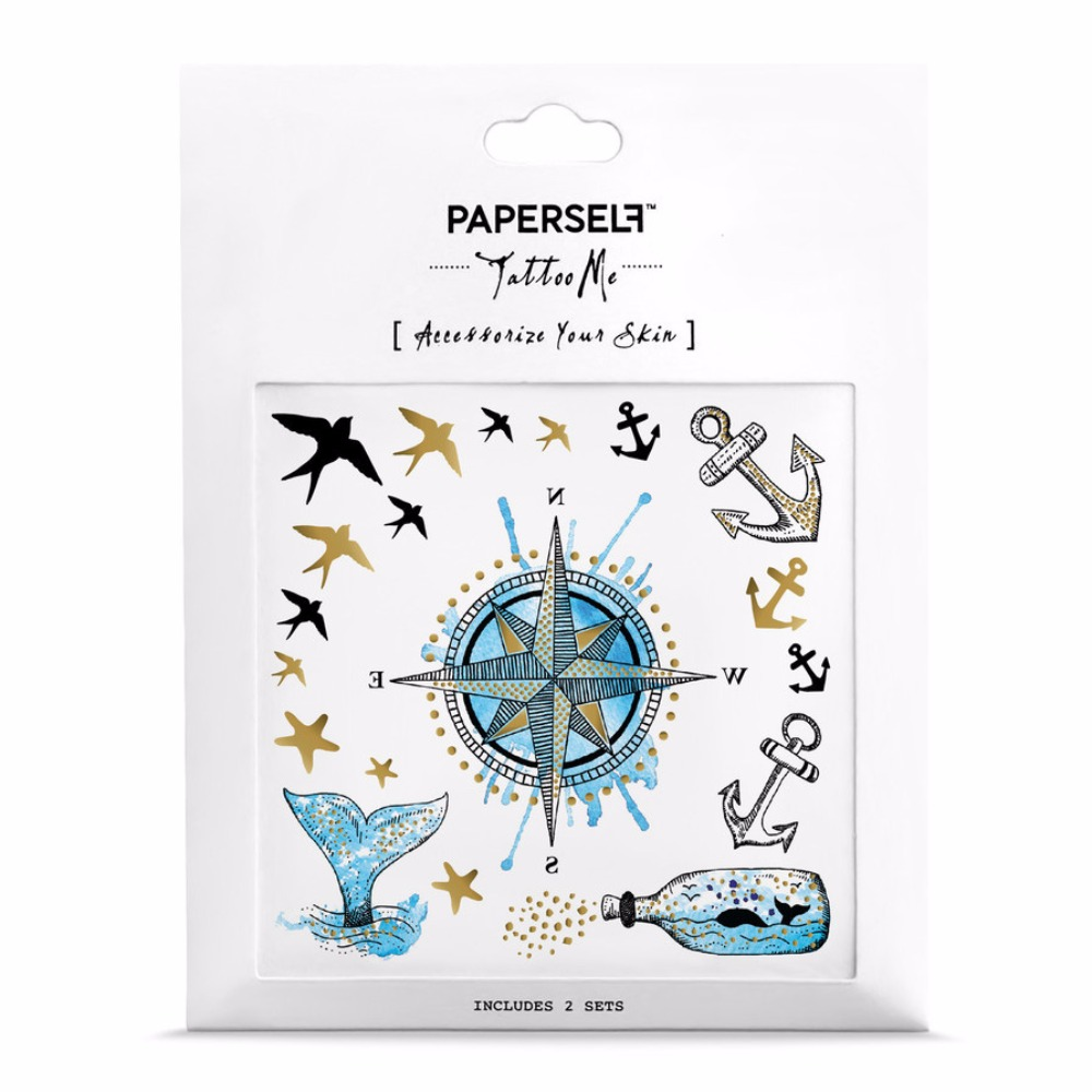 PAPERSELF|海洋探險 Nautical(金)