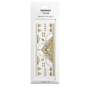 PAPERSELF|印度漢娜彩繪 Henna Gold(金)