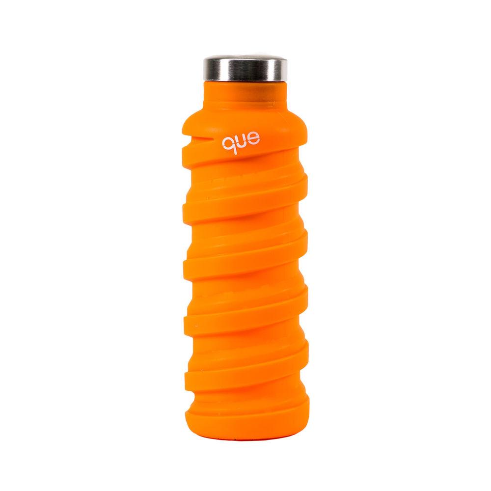 que Bottle 伸縮水瓶(600ml) - 活力橘