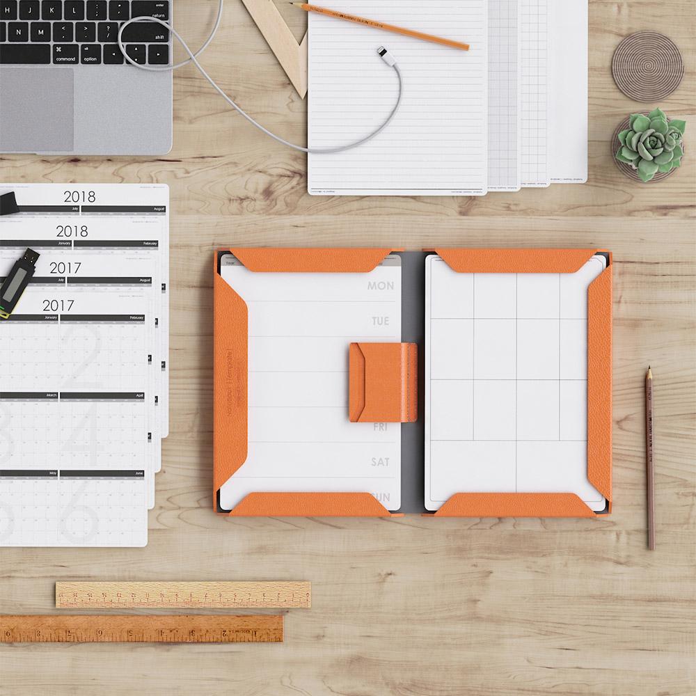 Allocacoc | NoteBook Modular A4 百搭筆記本 - 橘色