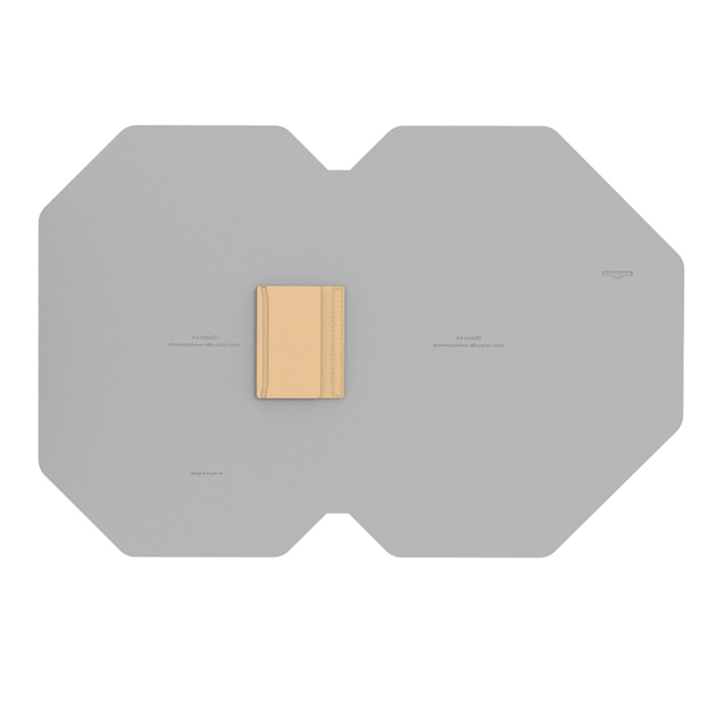 Allocacoc   NoteBook Modular A4 - 淺棕色