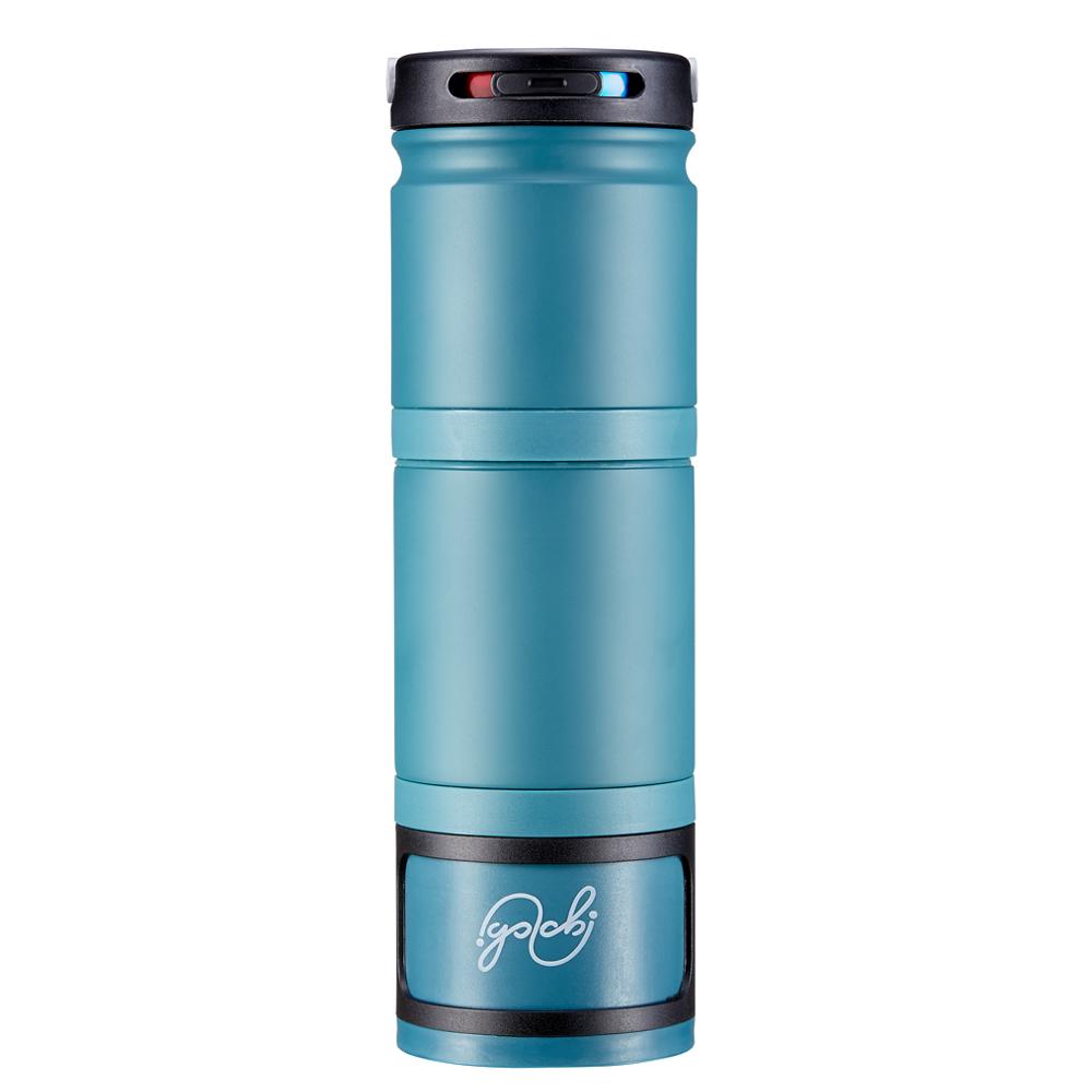 Golchi|多功能 304 不鏽鋼淬煉保溫瓶 - 青色