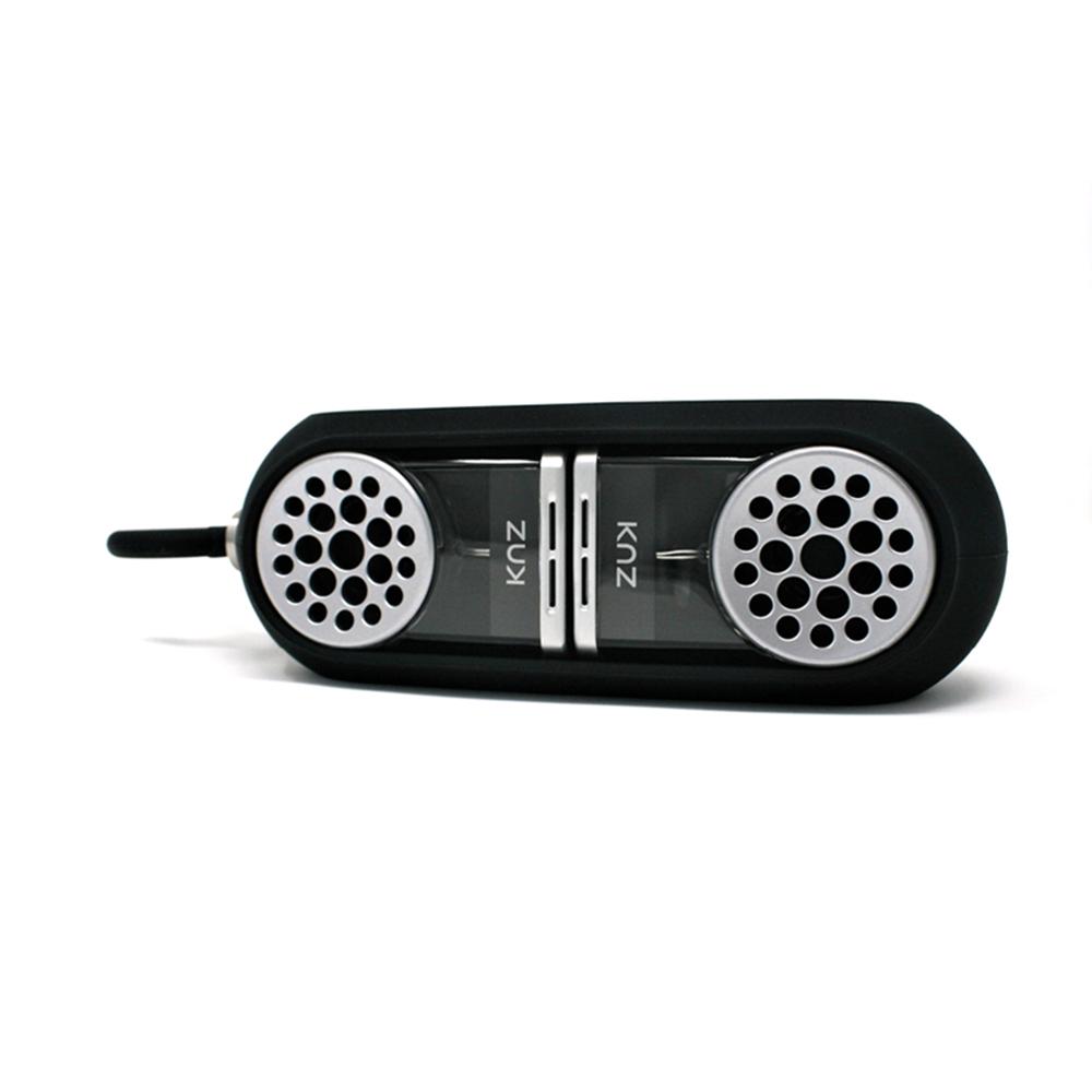 KNZ GoDuo無線磁吸音響 - 透明主體(黑色矽膠套)