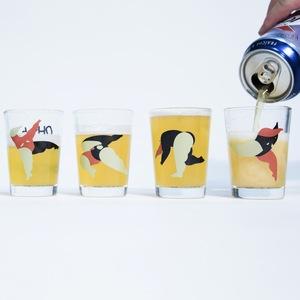 點點善 X PiliWu-Design  時代部落-ㄎㄧㄤ酒杯組