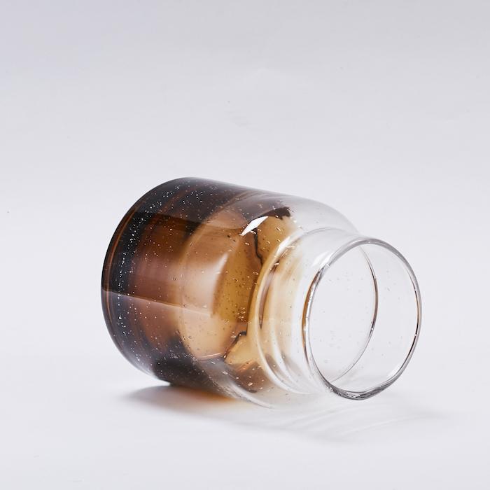 Bloomingville 咖啡色漸層花瓶