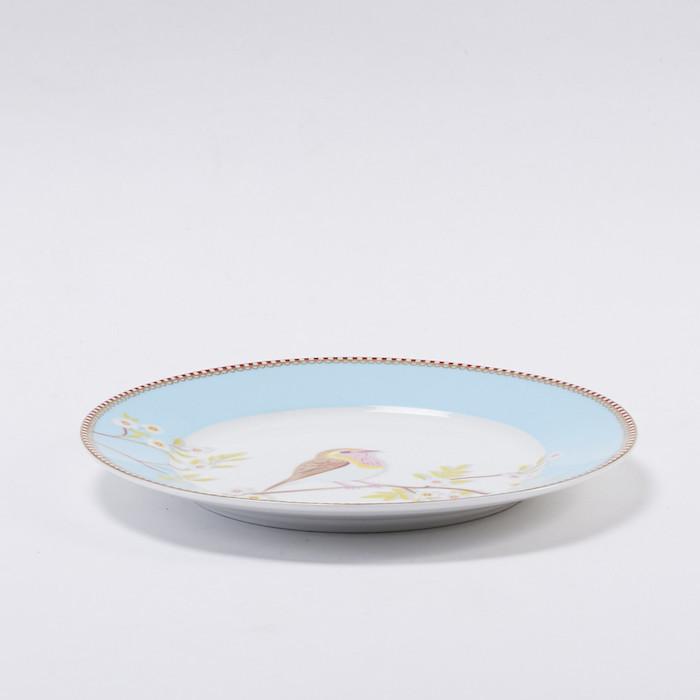 Pip Studio粉藍枝頭雛鳥餐盤