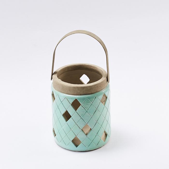 Bloomingville|綠色陶土製燈籠