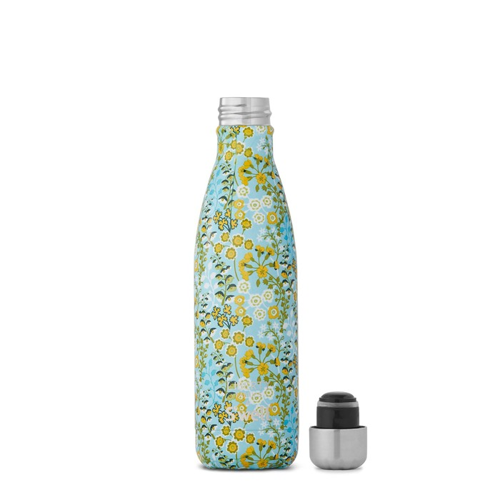 Swell|時尚不鏽鋼水壺Liberty Fabrics系列Primula Blossom  17oz.
