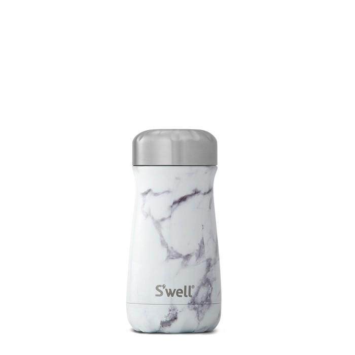(複製)Swell|時尚不鏽鋼水壺Traveler-White Marble 12oz.