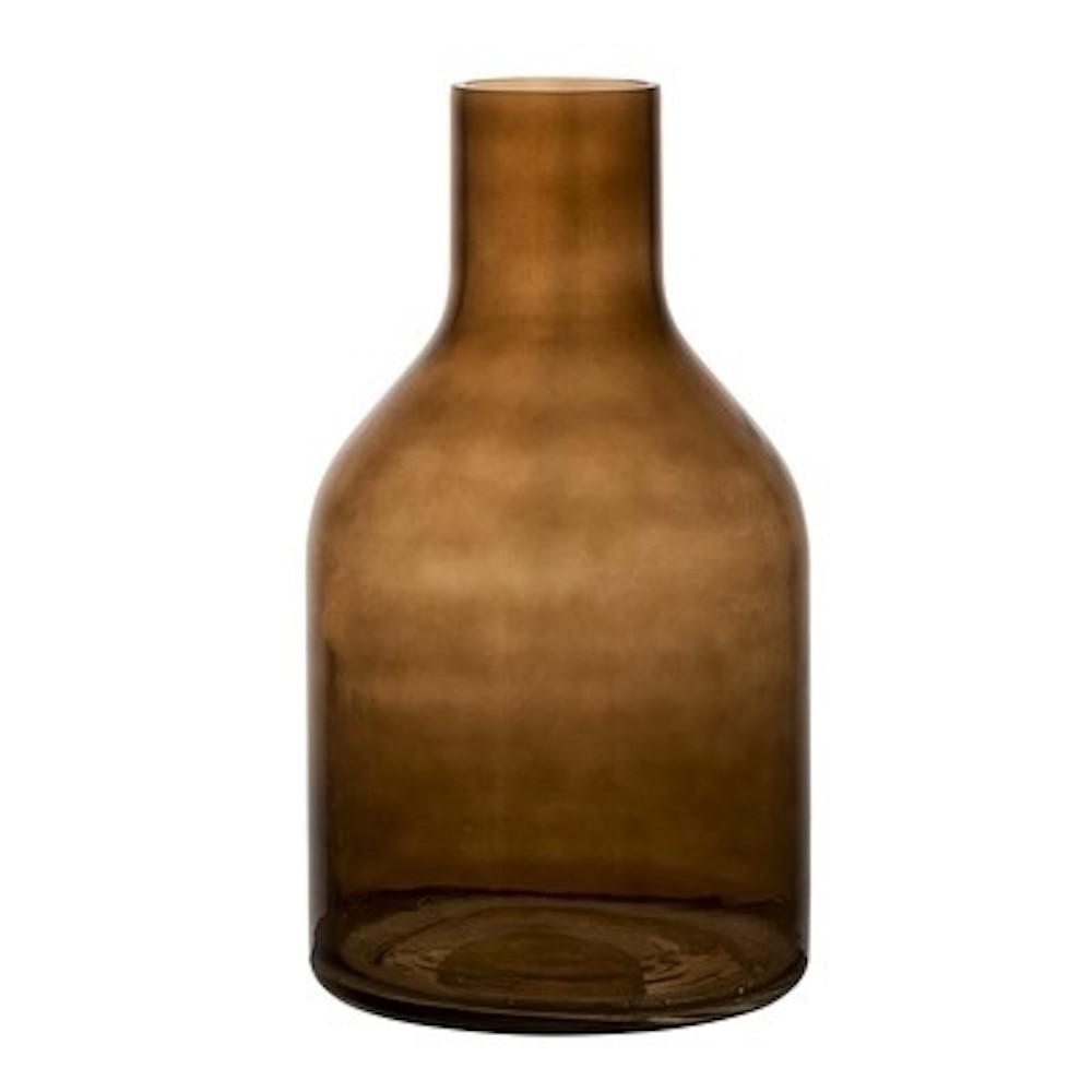 Bloomingville  | 深咖啡色玻璃花瓶