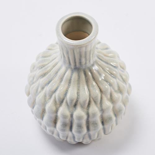 Bloomingville | 米藍混搭陶製花瓶