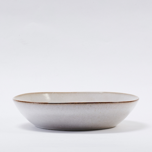 Bloomingville|灰色陶瓷餐盤22CM