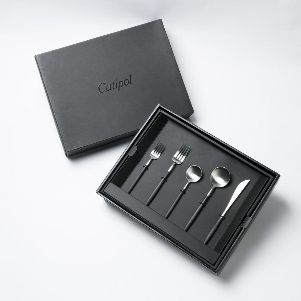 Cutipol|檀木戈亞霧面5件六套組(含彩盒)