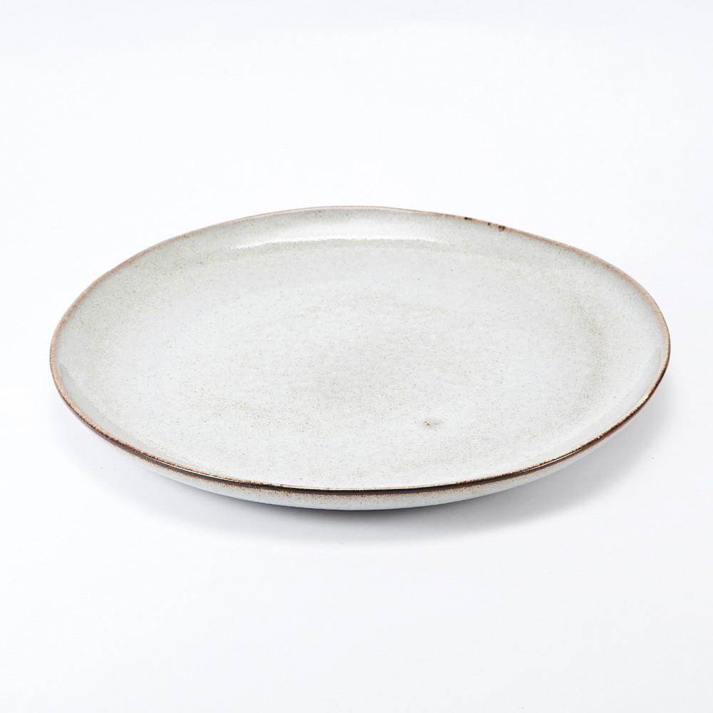 Bloomingville|灰色陶瓷餐盤28.5cm