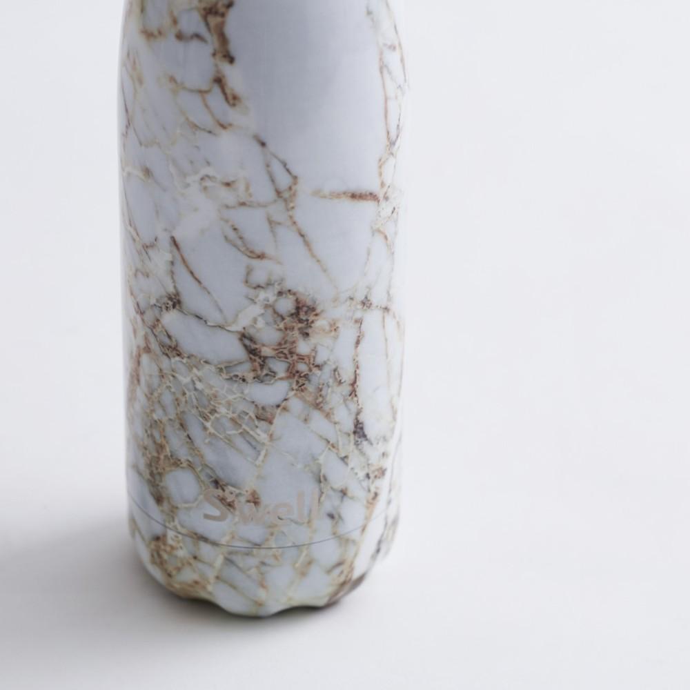 Swell|時尚不鏽鋼水壺-Elements系列-Calacatta Gold 17oz.