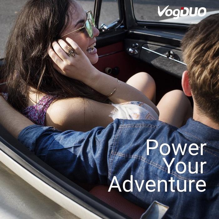 (複製)VogDUO | Charger Go 30W雙Type-C專業高速多功能車充(經典黑)