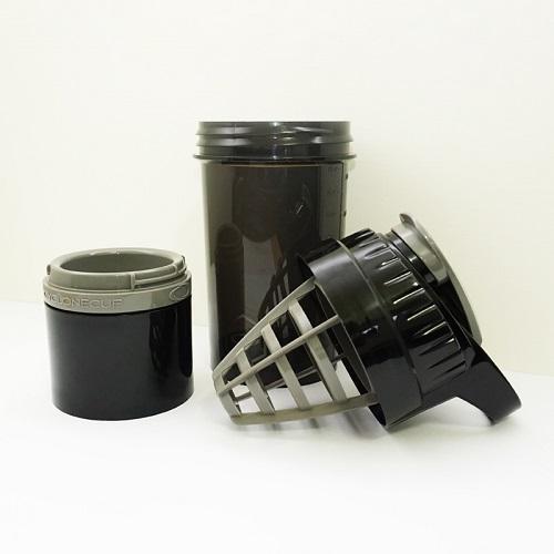 Cyclone cup | Amazing Shaker 無毒多功能運動休閒水壺 - 沉穩黑