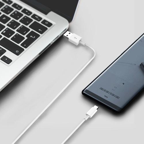 VogDUO | Cable Go 超耐用高速Type-C 3.0 To Type-A 傳輸充電線 (100cm)(典雅白)