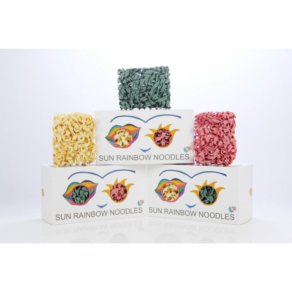 陽光彩虹 陽光彩虹麵 Sun Rainbow Noodle(六片裝禮盒x3)
