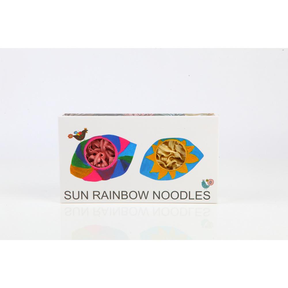 陽光彩虹 陽光彩虹麵 Sun Rainbow Noodle(兩片裝禮盒x5)