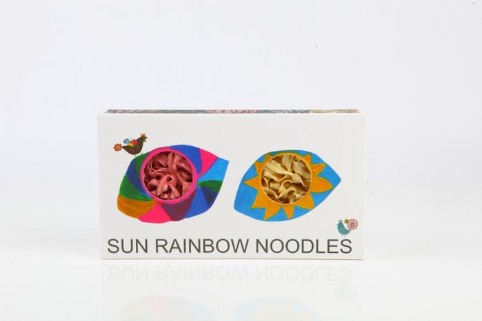 (複製)陽光彩虹 陽光彩虹麵 Sun Rainbow Noodle(六片裝禮盒x6)