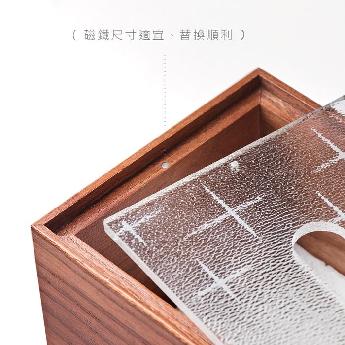 TZULAï 原木窗花面紙盒