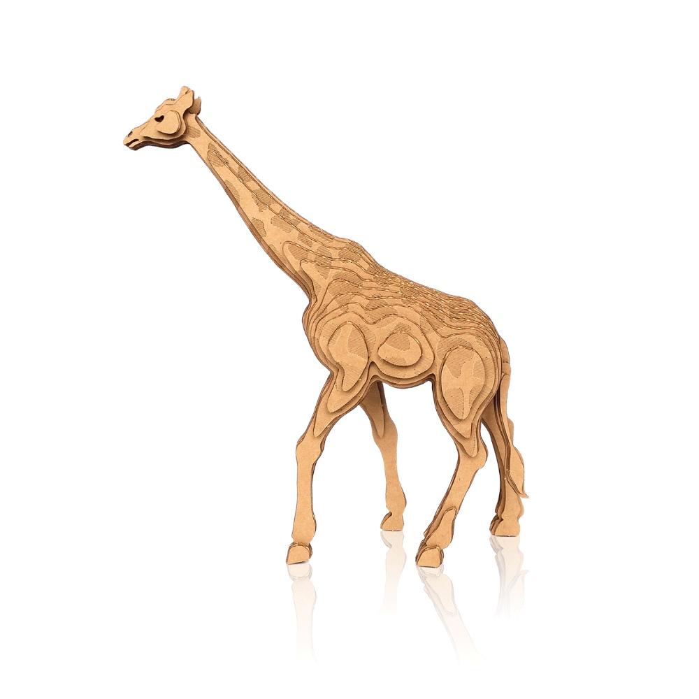CONTAMO|手作模型-長頸鹿