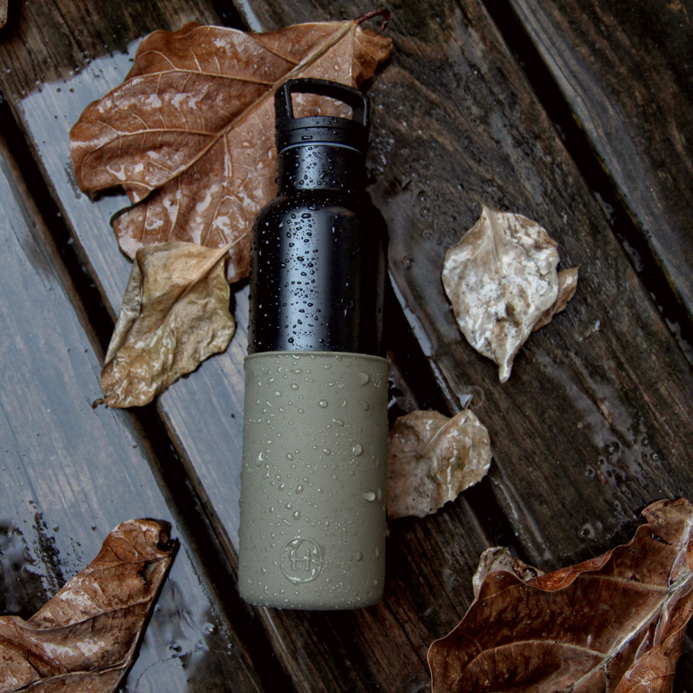 美國HYDY|CinCin Black Collection 海藻綠/黑瓶 590ml