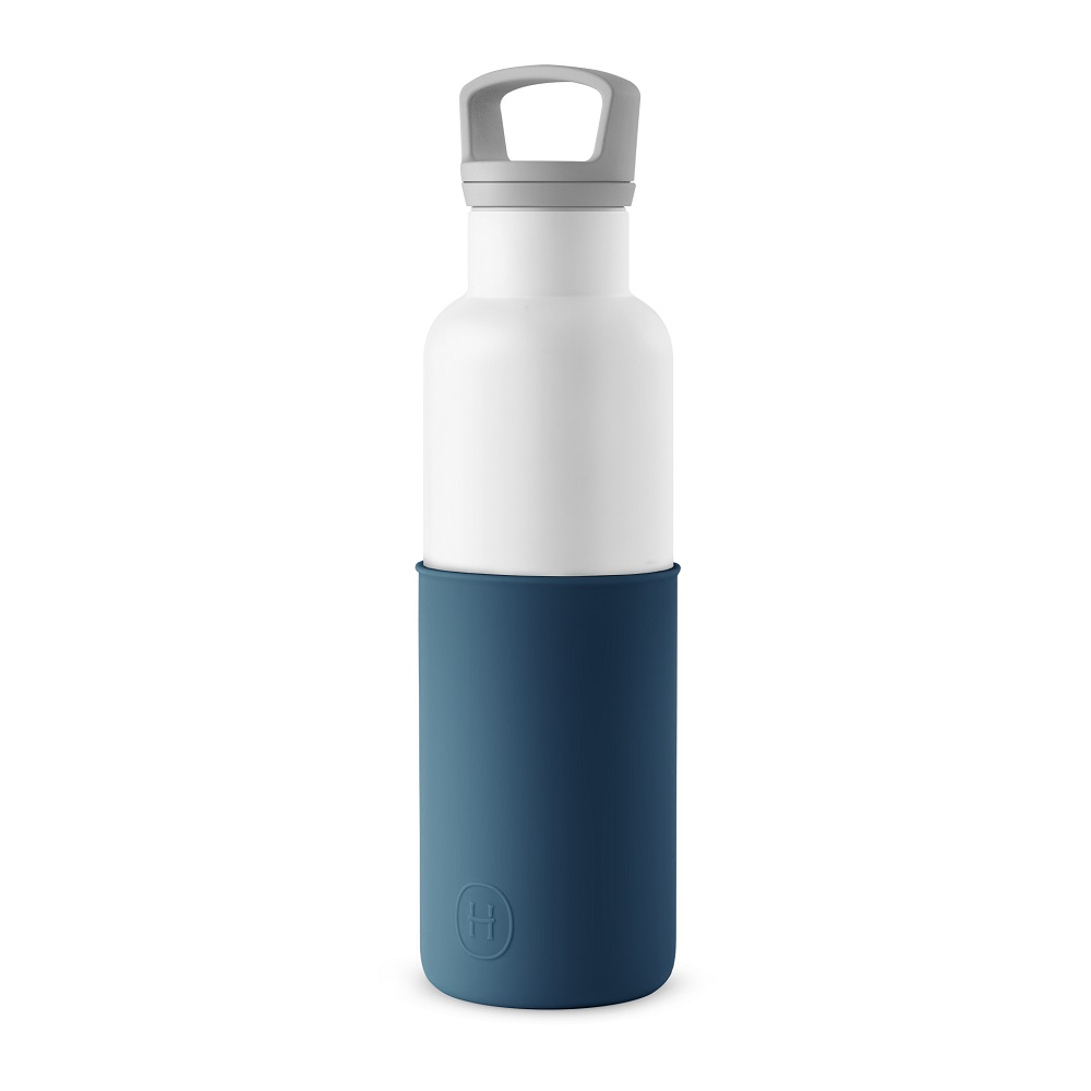 美國HYDY CinCin White Collection 海軍藍/白瓶 590ml