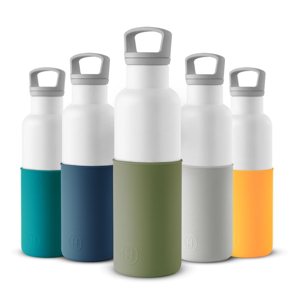 美國HYDY|CinCin White Collection 海藻綠/白瓶 590ml