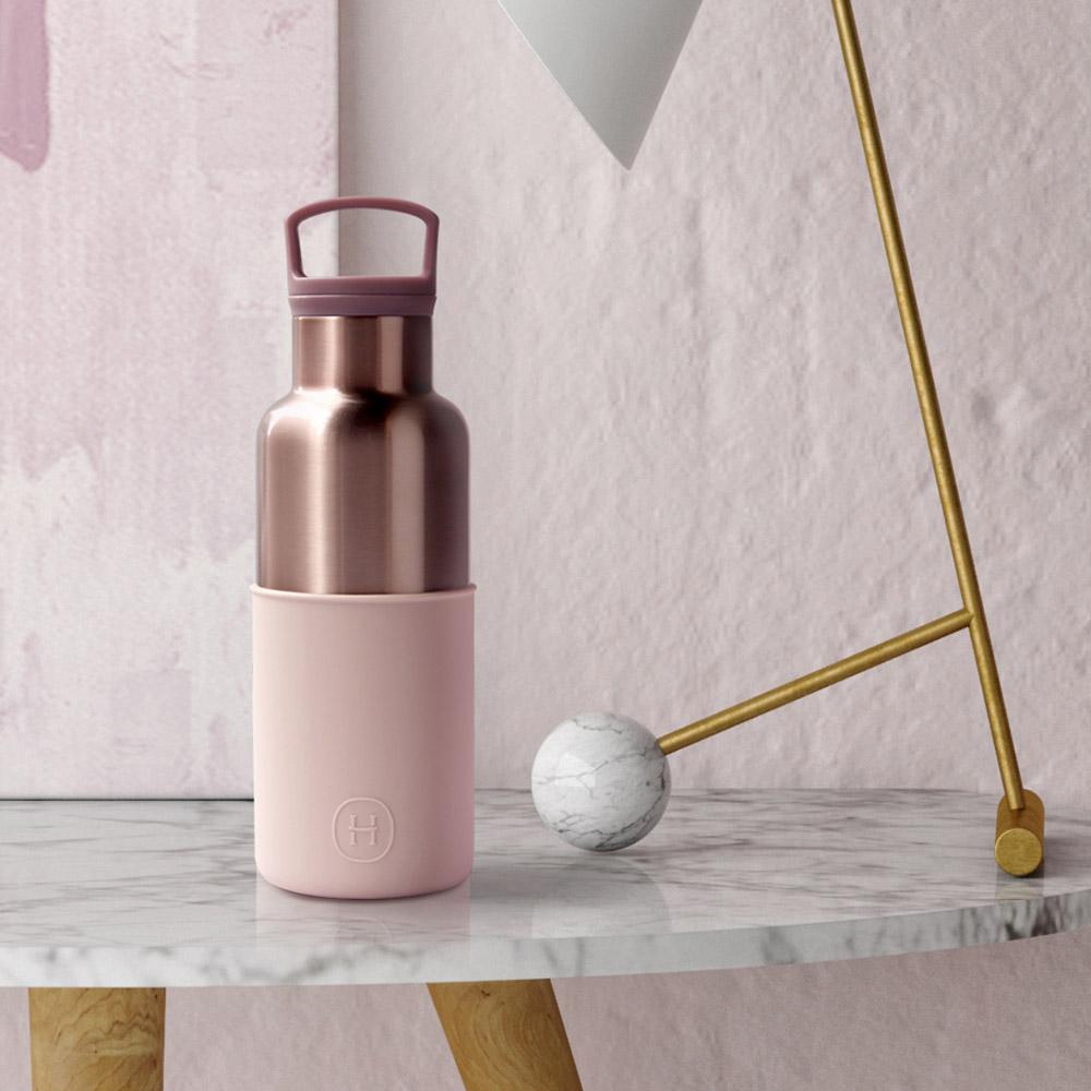 美國HYDY CinCin Déco Collection 拿鐵-蜜粉金瓶 480ml