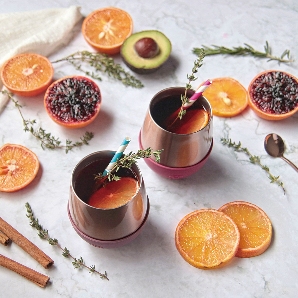 美國HYDY | Delicia 系列時尚蛋型杯(蜜粉金-桑格莉亞)