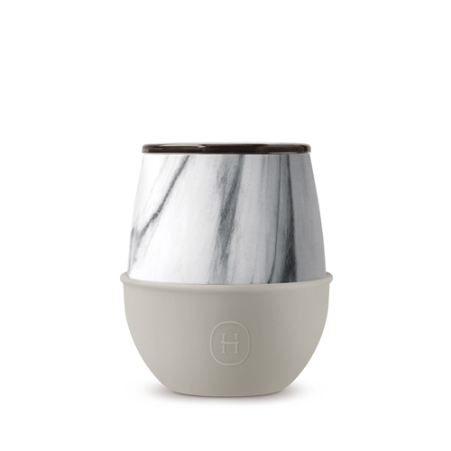 美國HYDY | Delicia 系列時尚蛋型杯(大理石-尤加利)