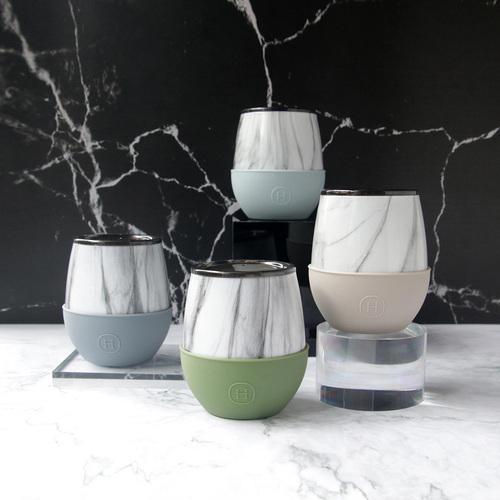 美國HYDY | Delicia 系列時尚大理石蛋型杯4入組
